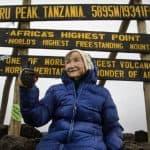 oldest person to trek kilimanjaro