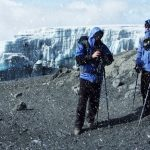 men in the snow kilimanjaro