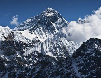 Mount Everest, China and Nepal