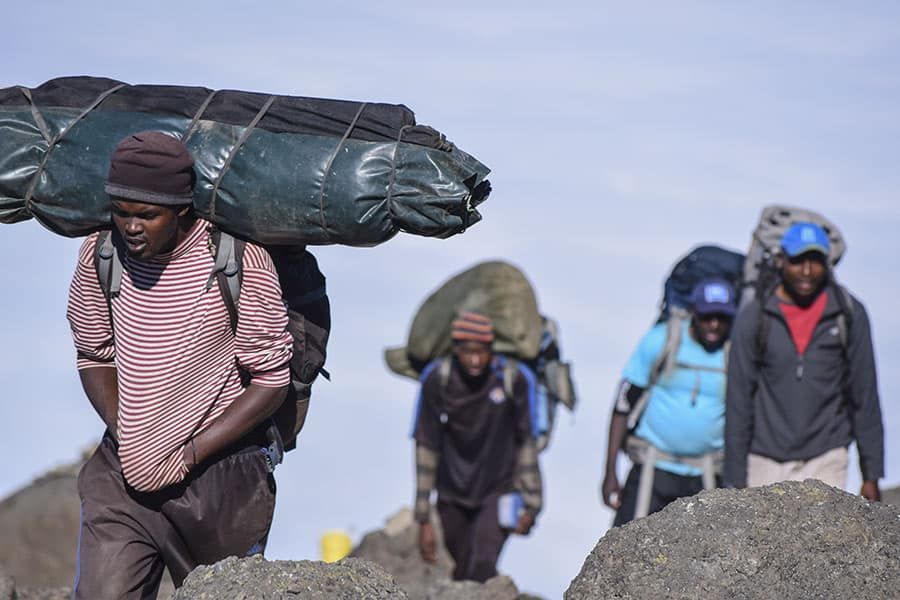 guides and porters