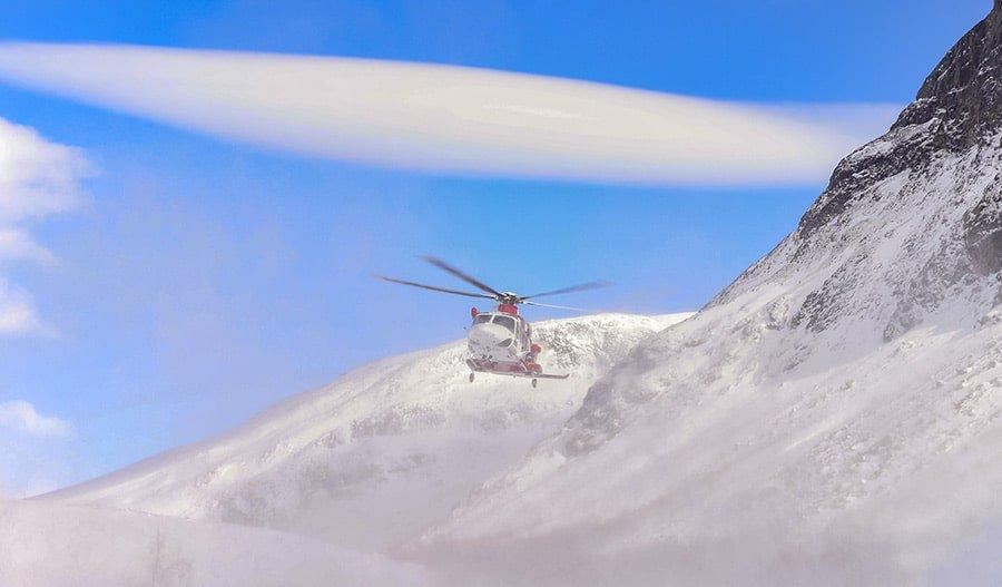 Helicopter Evacuation Kilimanjaro