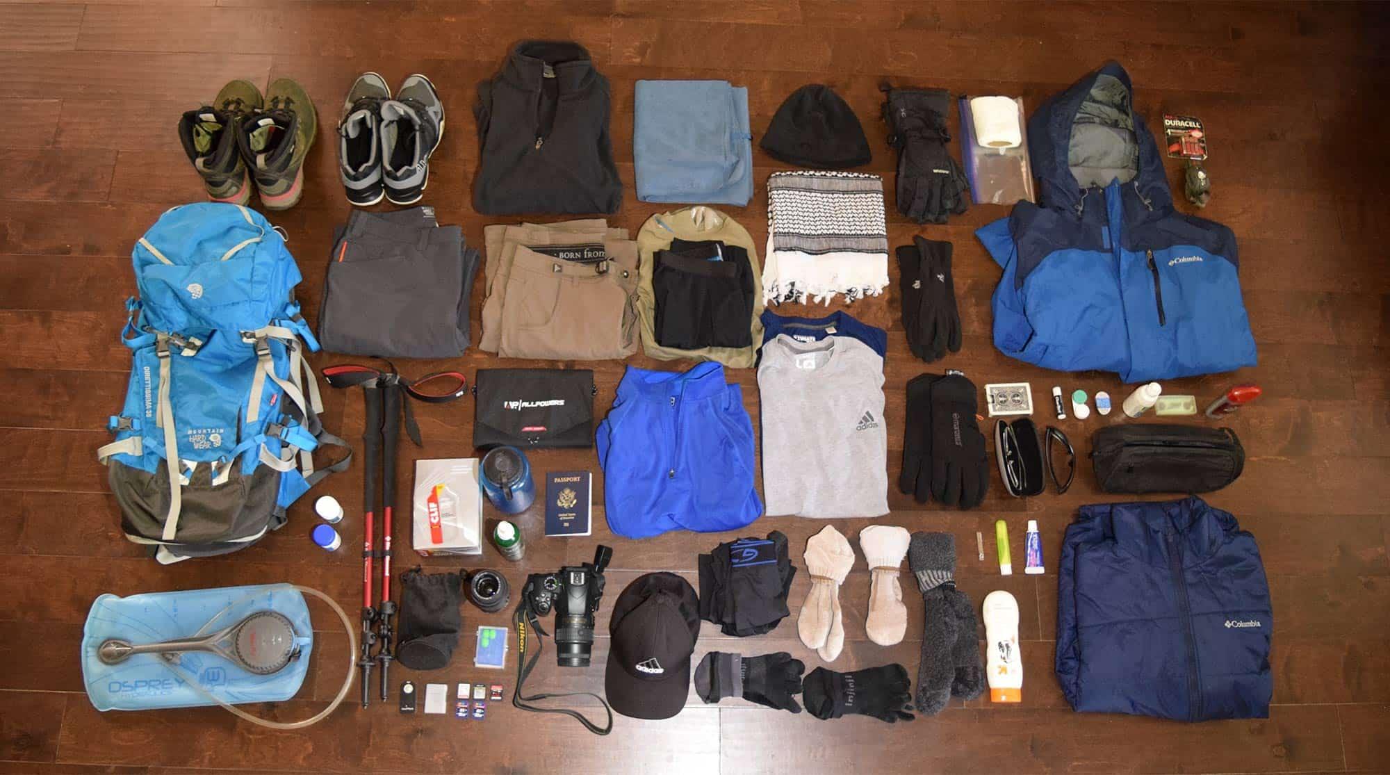 gear for kilimanjaro