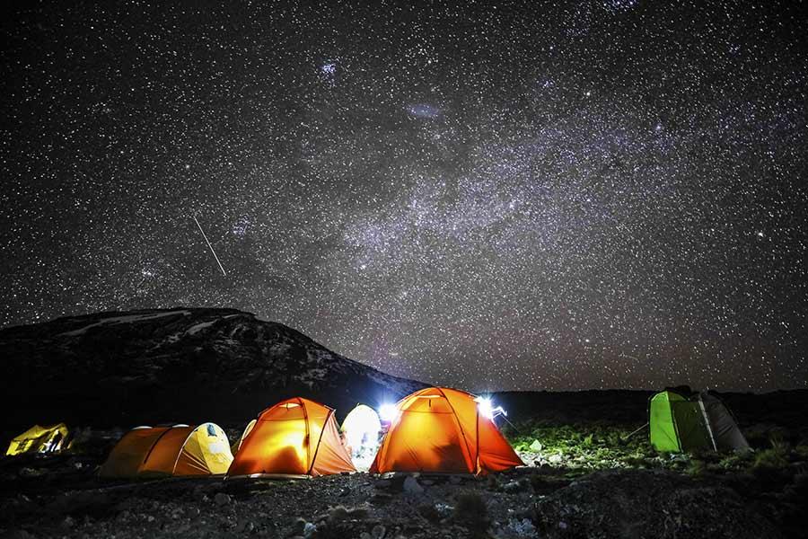 kilimanjaro night