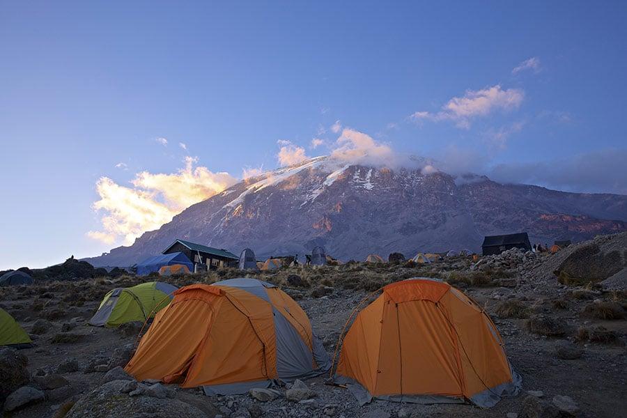 Shira 2 Camp, Kilimanjaro