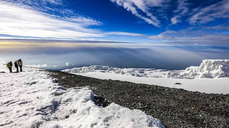 kilimanjaro glaciers