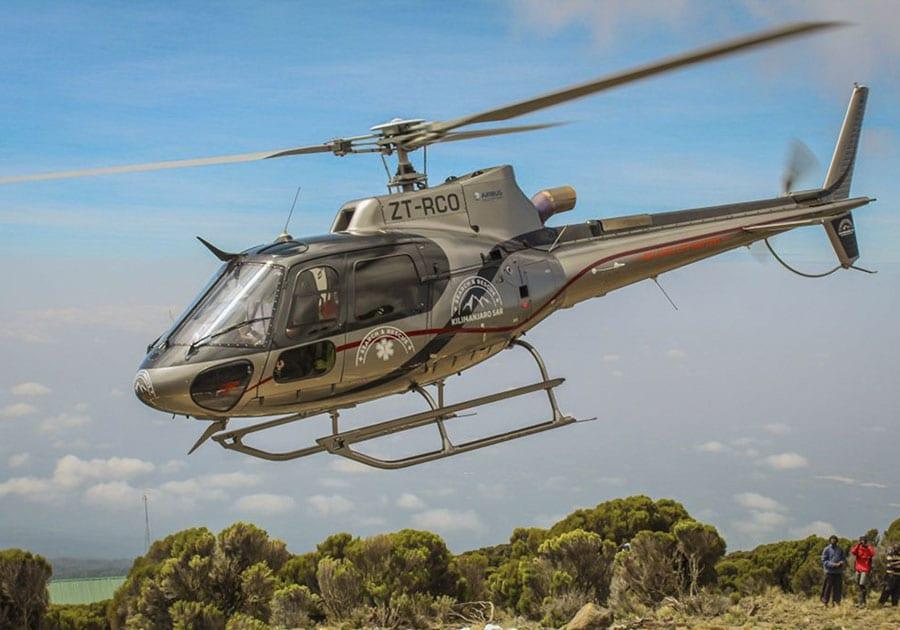 Kilimanjaro SAR helicopter