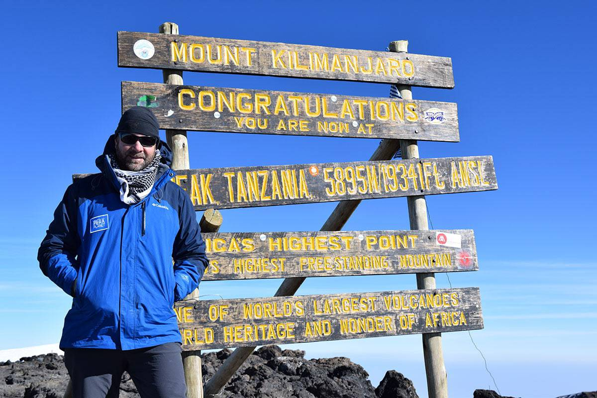dress in layers for kilimanjaro