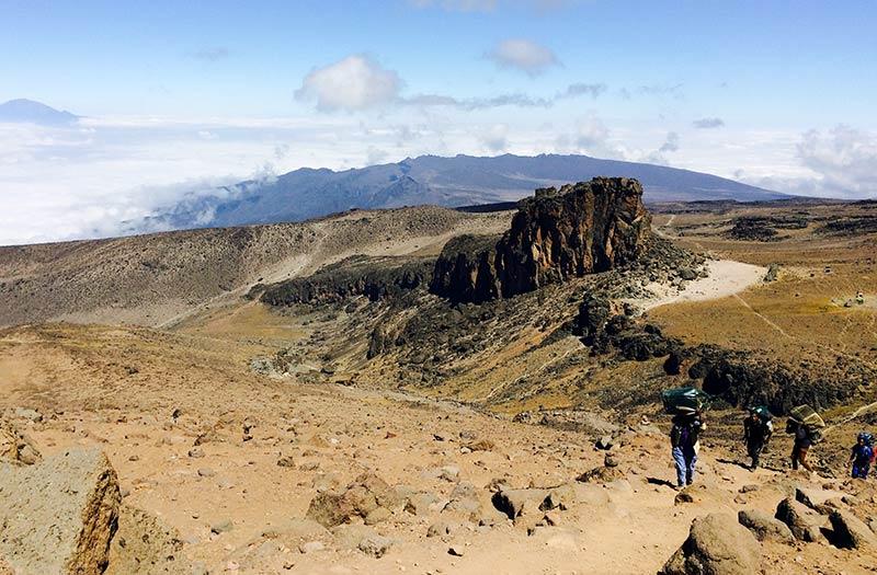 leaving lava tower
