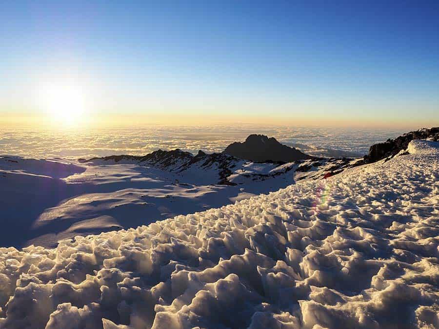 Mawenzi Peak from Gilman Point