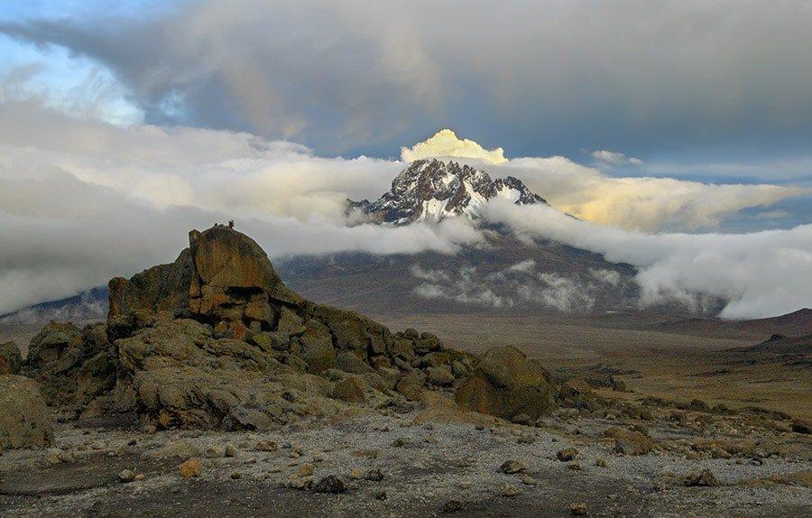 Mawenzi Peak on the Rongai Route