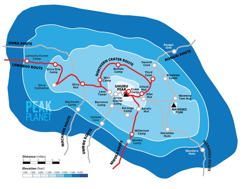 northern-crater-route-map