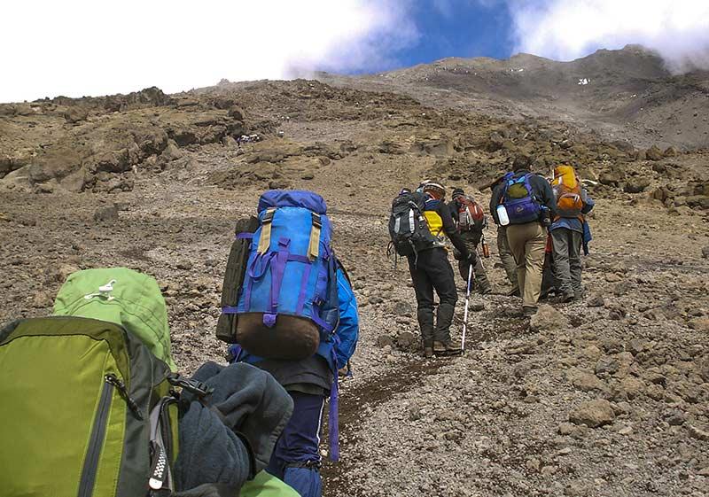 Climbing Kilimanjaro without a guide or porter! | Tanzania ...