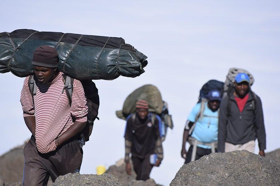 Kilimanjaro porters