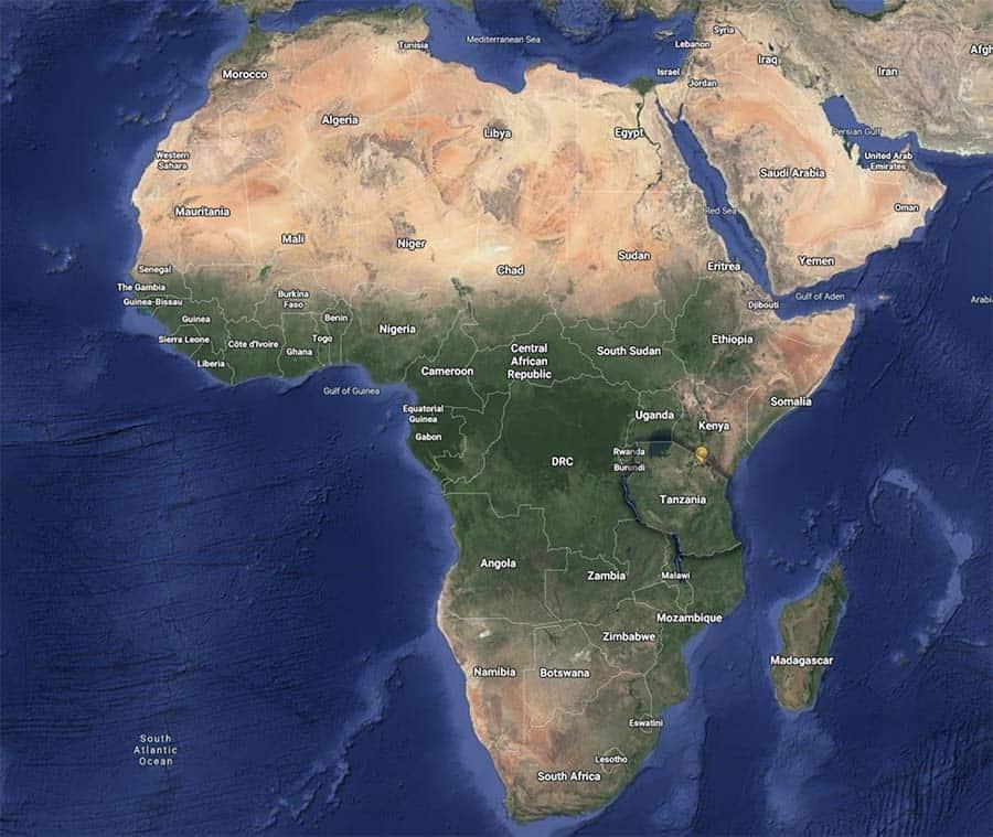 Where is Tanzania?